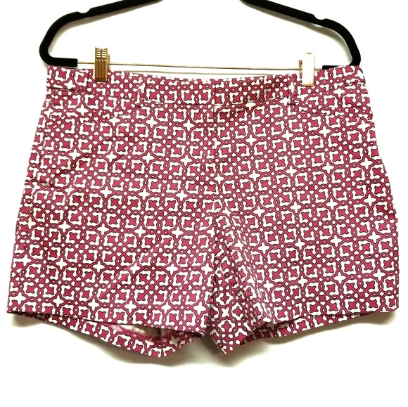Laundry By Shelli Segal Pants - Laundry by Shelli Segal Pink/Navy Patterned Shorts